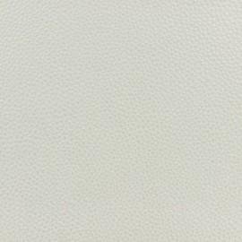 Simili cuir blanc irisé
