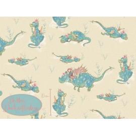 Summersweat Die Kleine Drachenflüsterin - Beige - Lillestoff
