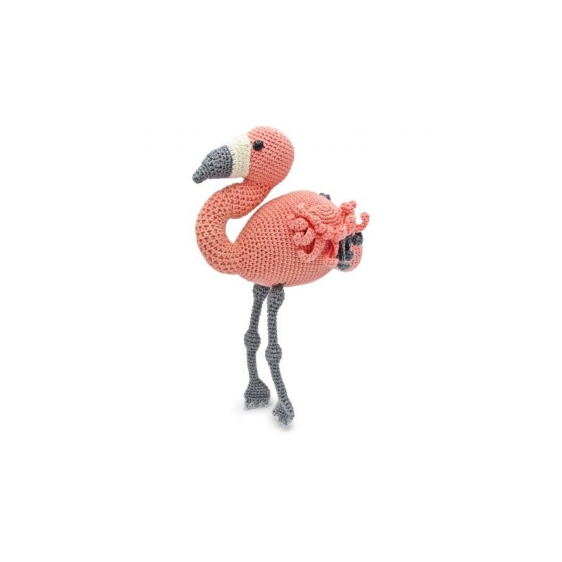 Kit crochet HardiCraft - coco le flamand rose