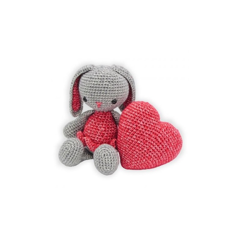 Kit crochet HardiCraft - pippa la lapine