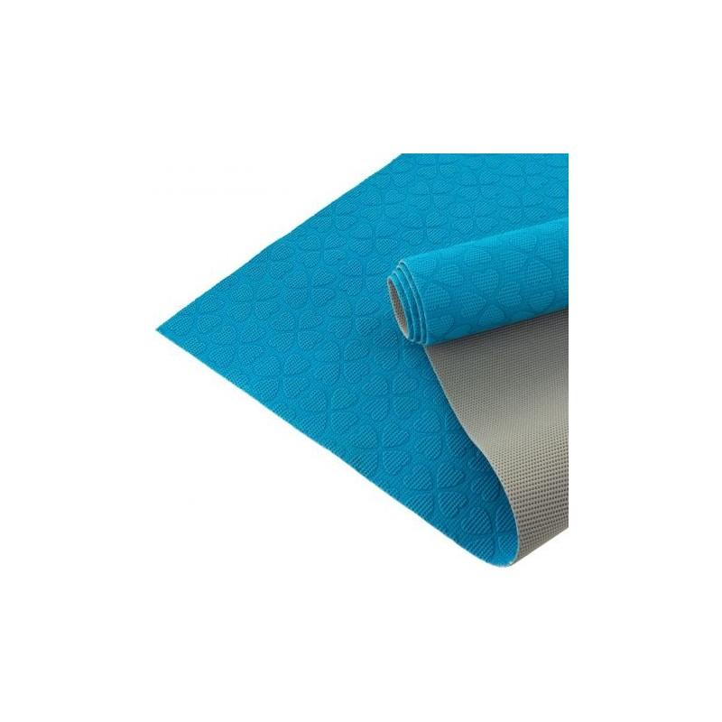 Coupon tissu antiglisse ALB Keep Me Bleu Gris