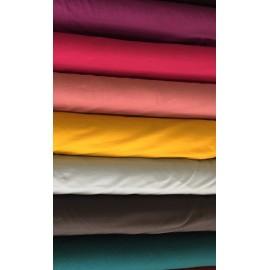 French Terry uni - Différents coloris - 155 cm - par 10 cm