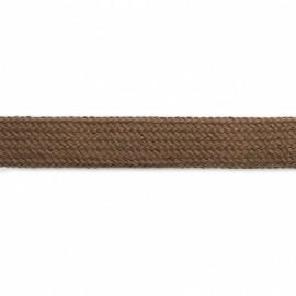 Cordon à capuche 17mm brun - Carte de 1,5m