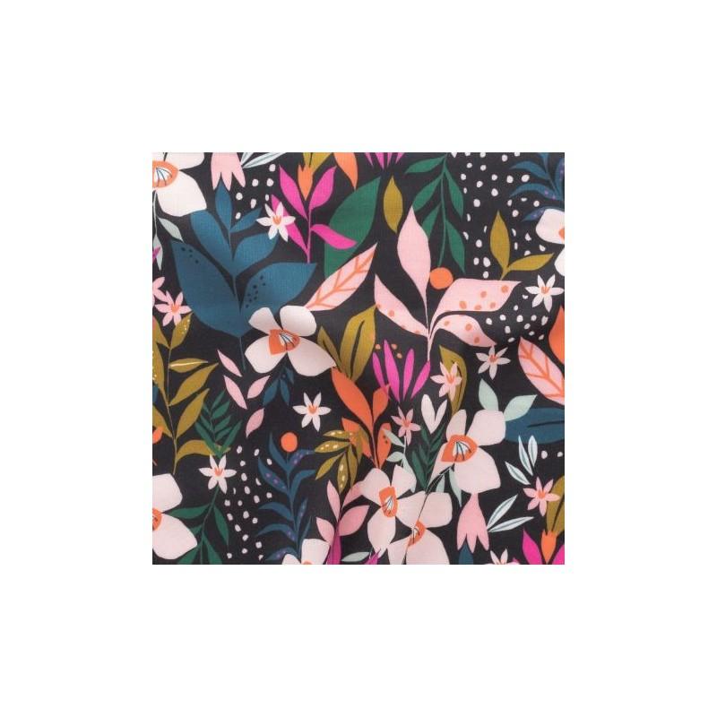 Tissu rayonne Dashwood - Collection soirée - Jardin secret