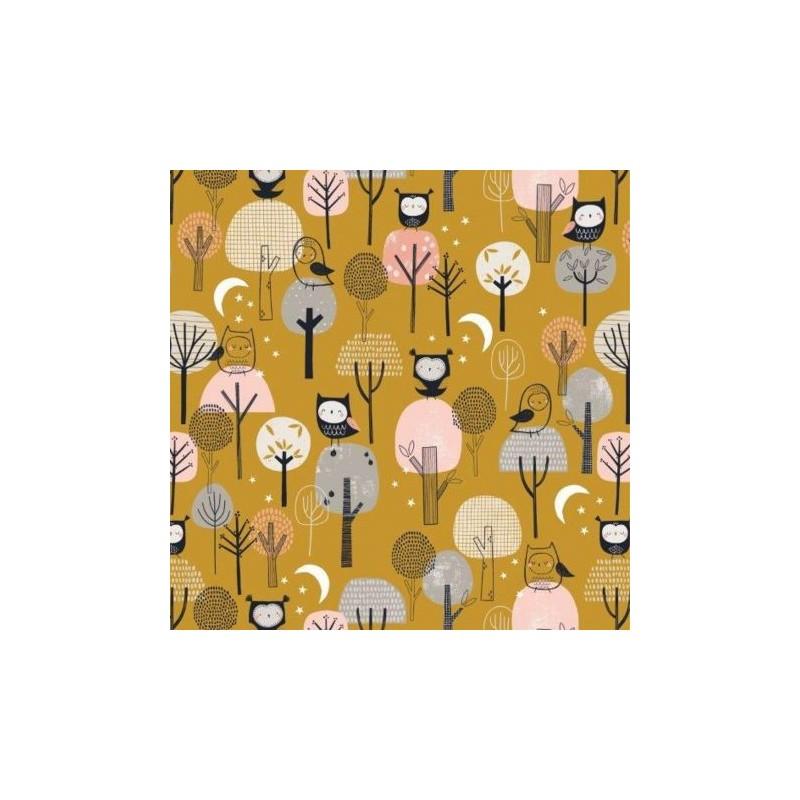 Tissu Coton Dashwood Trees